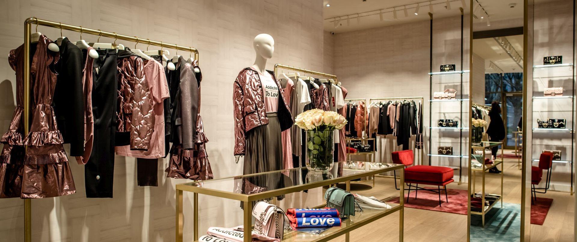 new product 8b386 46605 Edel-Design aus Italien: Pinko hat Store im Sevens eröffnet